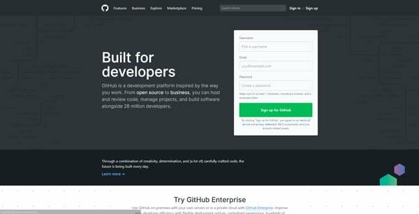 Github host open source project