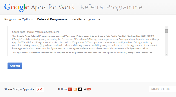 Google Apps Referral Process step 4