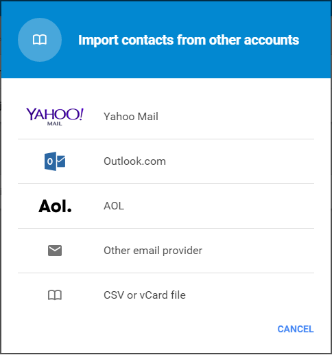 Google-Contacts-Import