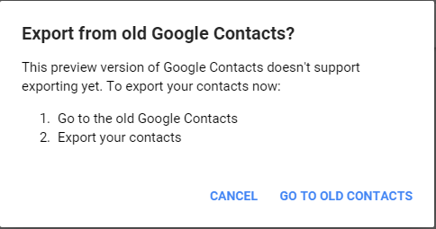 Google-Contacts-export