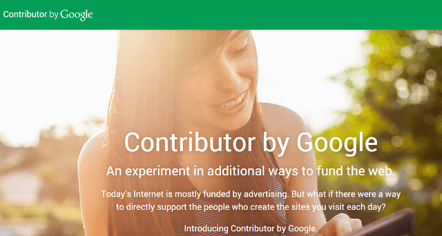 Google Contributor Welcome