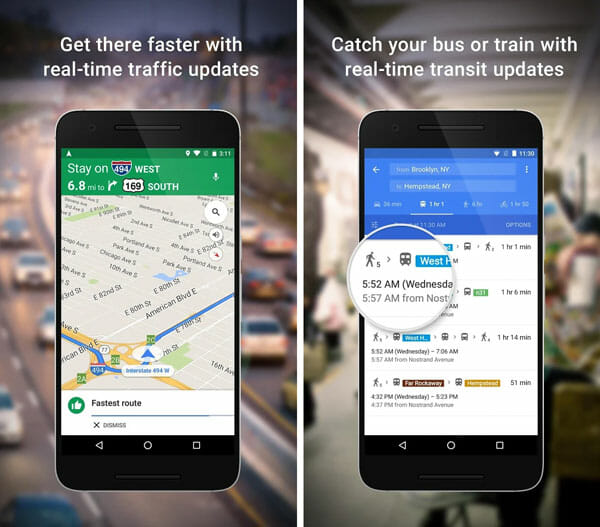 Google Maps Best Traffic Apps for Android and iOS