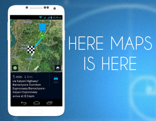 HERE Maps is Now Available as Open Beta