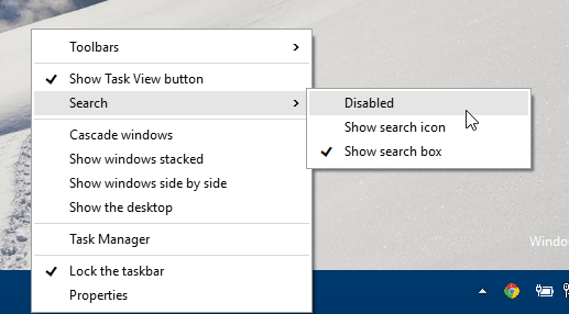 Hide-Cortana-search-box