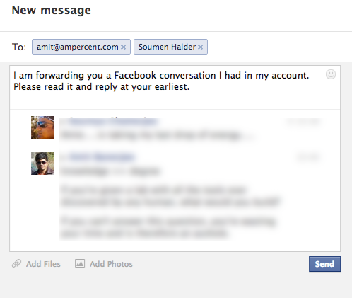 How to Forward Facebook Messages To Gmail Or Other Email Accounts