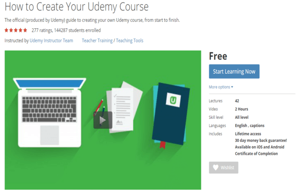 How To Create Udemy Course Official Guide
