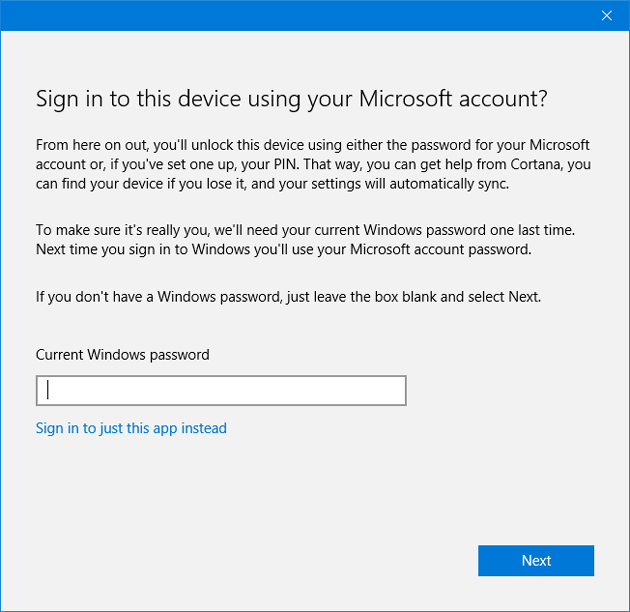 Install Windows 10 Store Apps Without Switching to a Microsoft Account