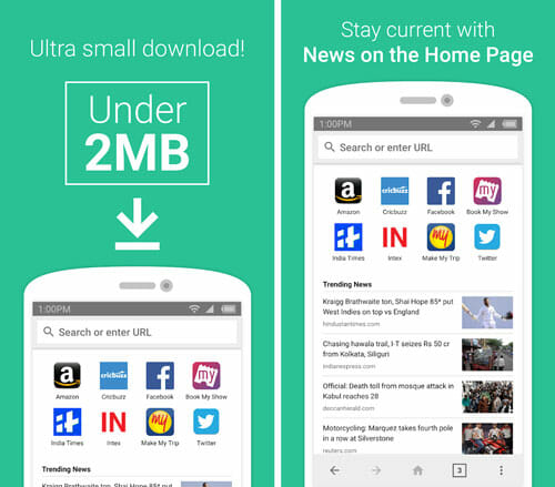 Internet Browser Best Lightweight Apps to Save Memory