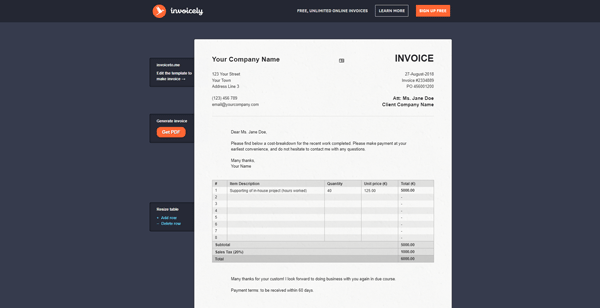 Invoicely Best Invoice Maker Apps for Small Business and Freelancer