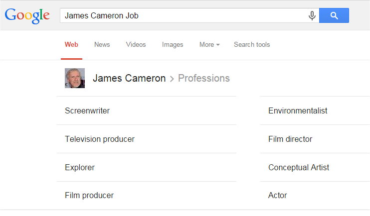 James Cameron Job