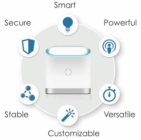 KeeWiFi Router – One Tap Setup with Maximum Security