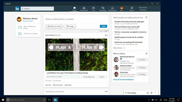 LinkedIn Best Social Media Clients for Windows