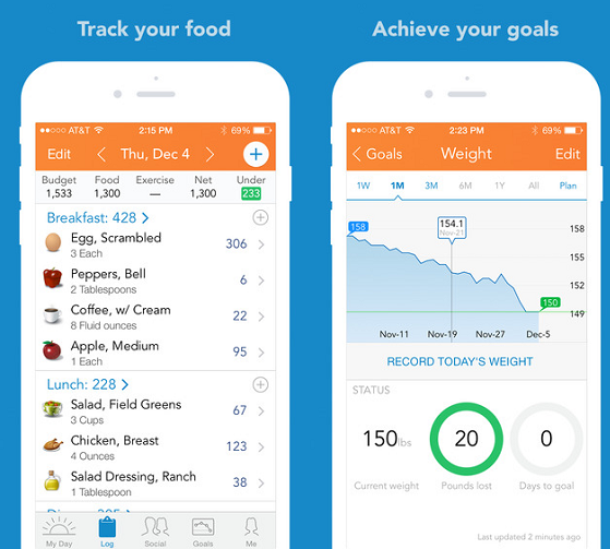 visualize you weight loss app