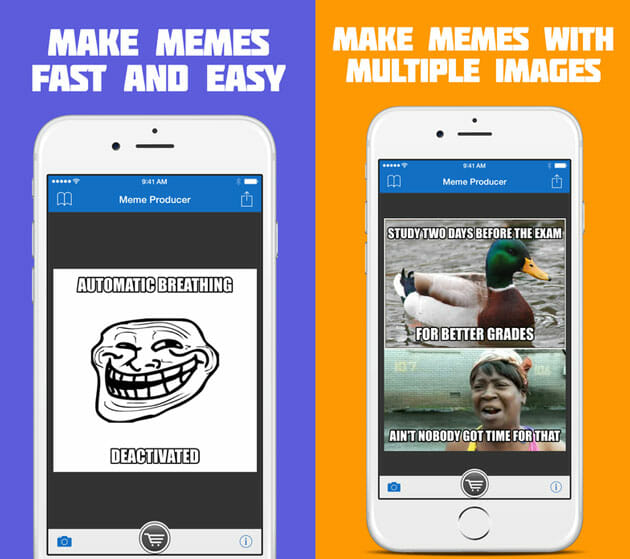 Meme Producer meme generator apps for iPhone top 5 meme generator apps for iphone ios