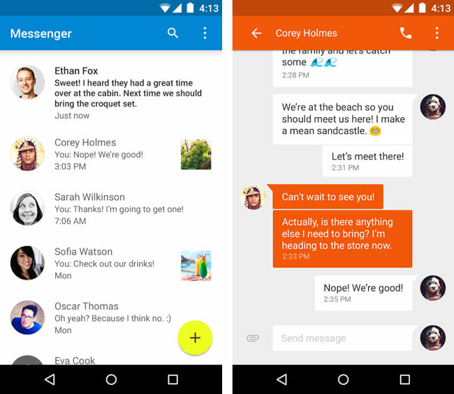 Messenger by Google