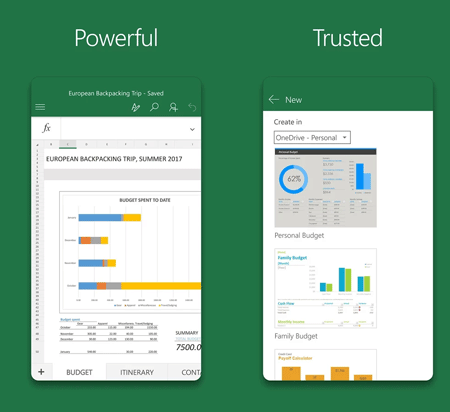 Microsoft Excel Top 20 Free Microsoft Apps for Android and iOS