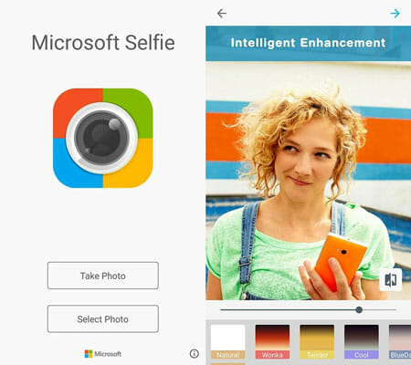 Microsoft Selfie Top 20 Free Microsoft Apps for Android and iOS