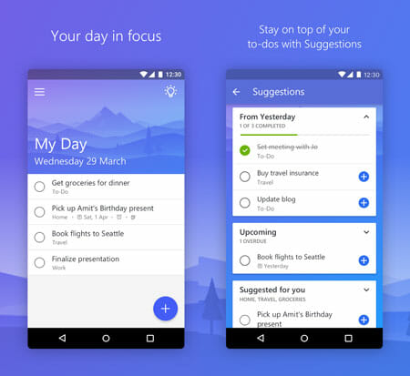 Microsoft ToDo Top 20 Free Microsoft Apps for Android and iOS
