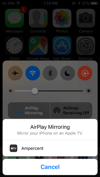 Mirror and Record iPhone Screen on Windows