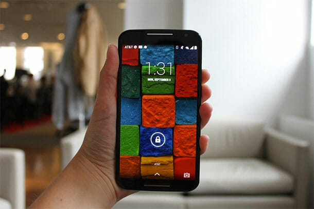Moto X Touchless Voice Control