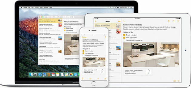 Notes App for iOS 9