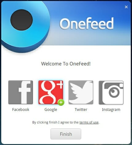 OneFeed-Chrome