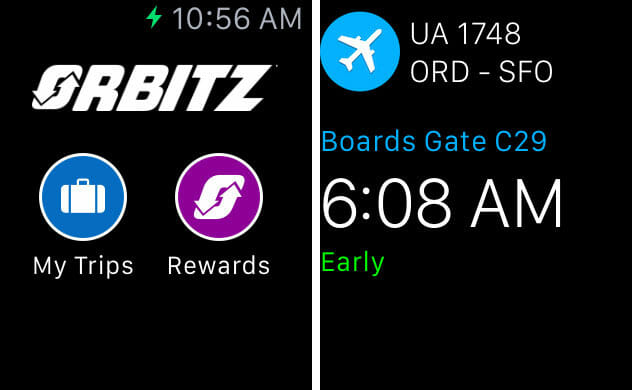 Orbitz for Apple Watch