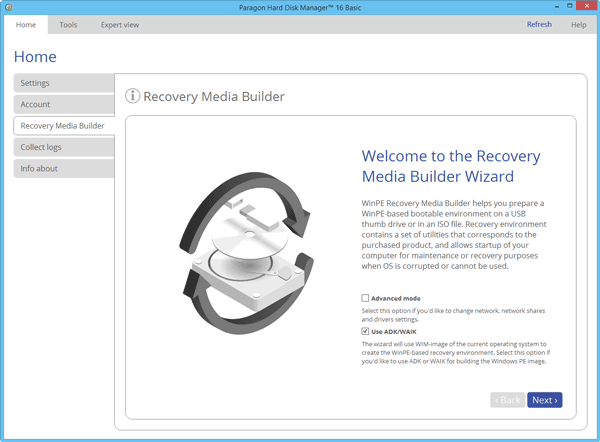 Paragon Backup & Recovery Best backup software for Windows