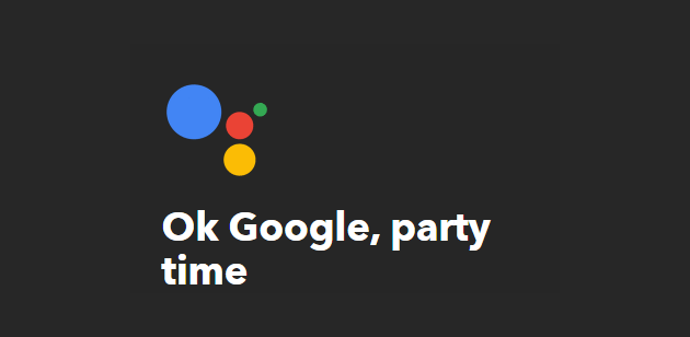 party-time-ifttt-applets-for-google-assistant