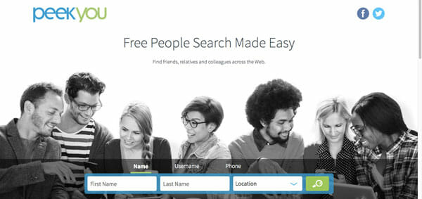 PeekYou Best people search engine to find anyone easily