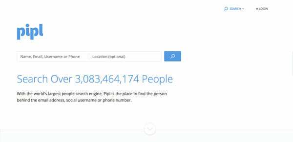Pipl Best people search engine to find anyone easily