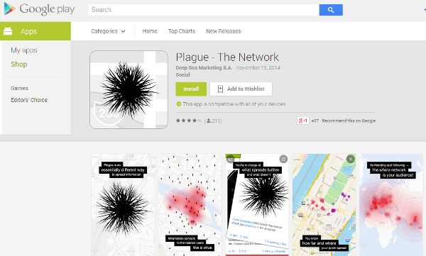Plague app for Android