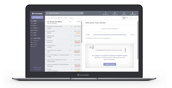 ProtonMail Best Secure Email Services to Send Encrypted Email