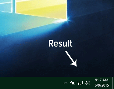 Remove Action Center from Windows 10