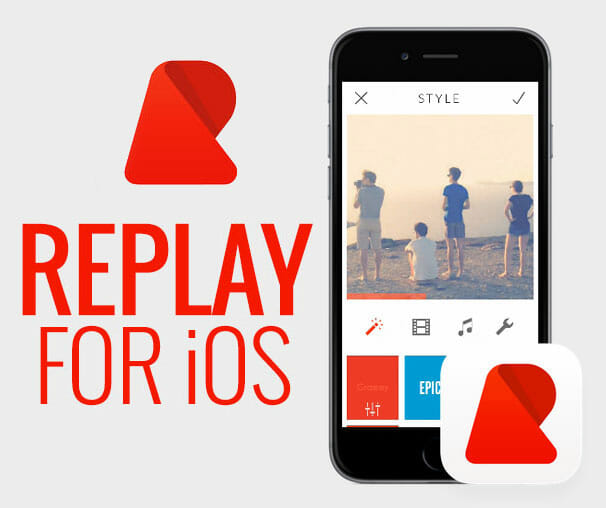 Replay Video Editor for iOS - Best Free Video Editor for iOS