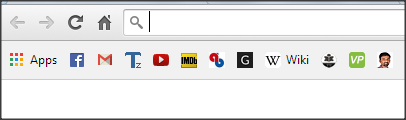 Save Websites Favicons as Bookmarks