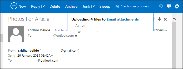Save email attachments to One Drive_Multiple Email Attachments