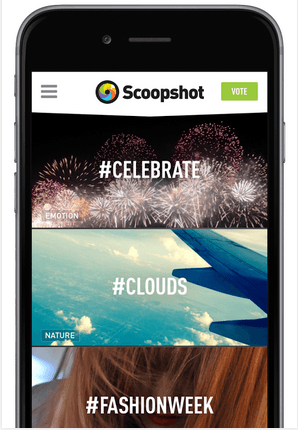 Scoopshot Android App