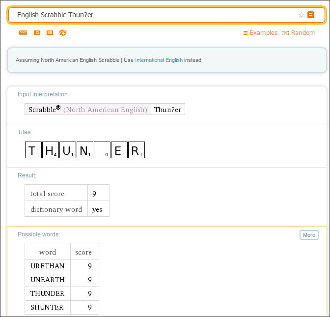 Scrabble_Wolfram Alpha