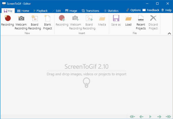 ScreenToGif Best GIF Maker Apps for Windows