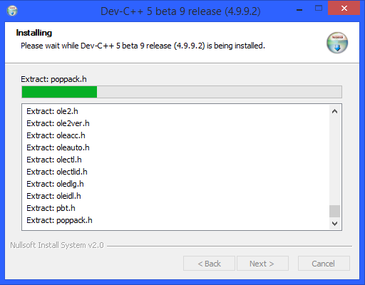dev-c-installation