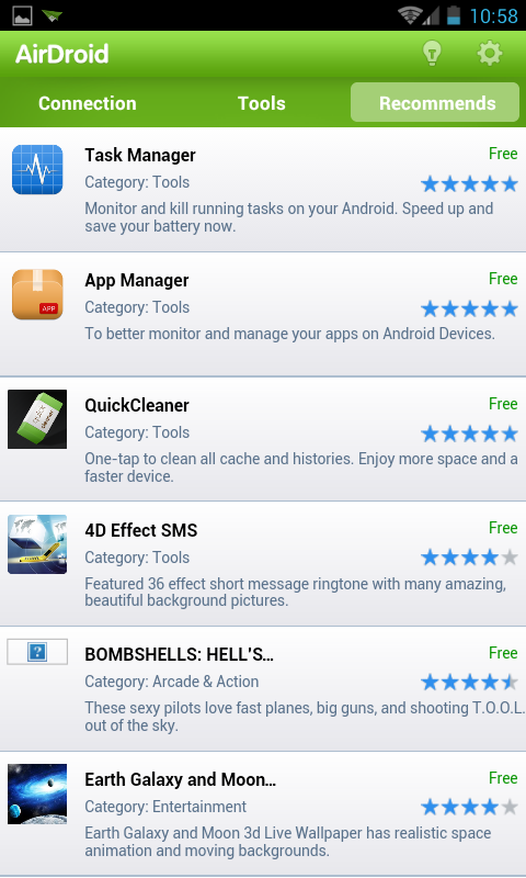 AirDroid - Android app