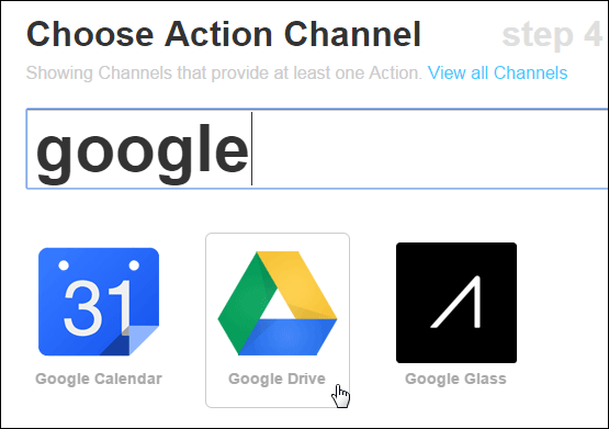 Select-Action-Channel
