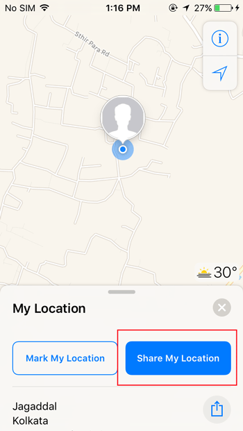 share-your-location-apple-maps