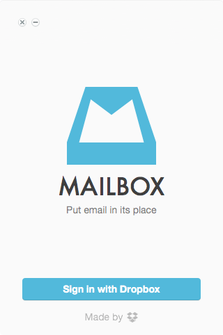 Sign in to Mailbox