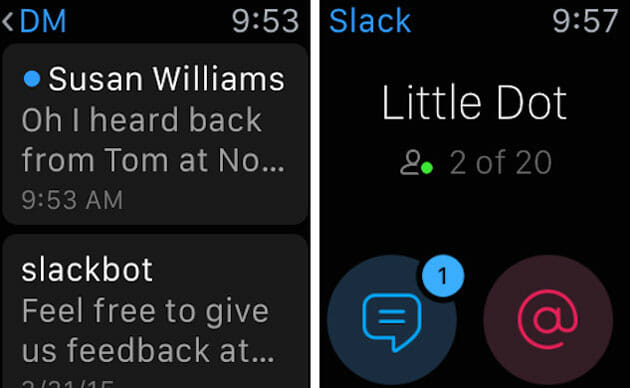 Slack for Apple Watch