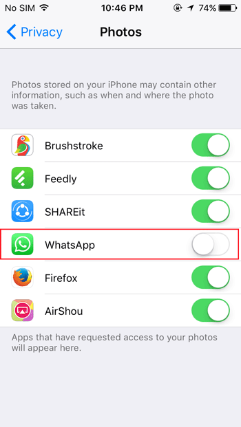 Stop WhatsApp Images from Appearing In Gallery Or Camera Roll whatsapp tips and tricks