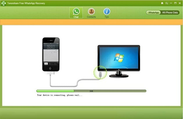 Tensorshare-whatsapp-recovery-iTunes-backup-Detect