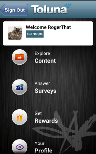 Toluna Survey App