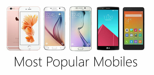 Top 5 Most Popular Mobiles Launched in 2015